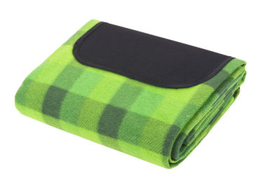 Practical Large Picnic Blankets / Rug With Waterproof Backing 800g